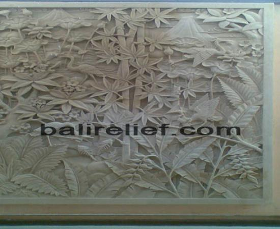 Relief Flower RRB-018