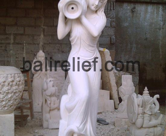 Bali Fountain Stone for Pool - Statue MD-004