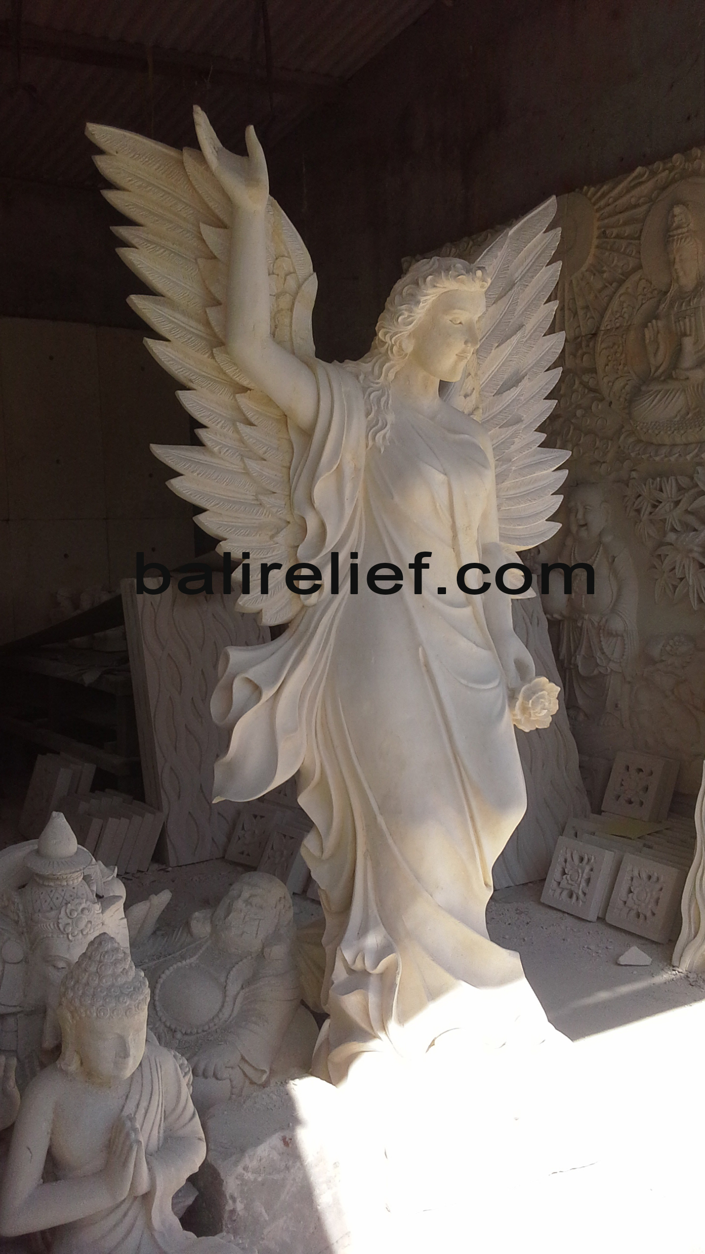 Balinese Sculpture for Sale - Statue REL-003