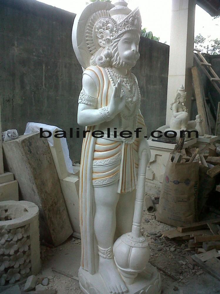Bali Hanuman Carving - Statue REL-023