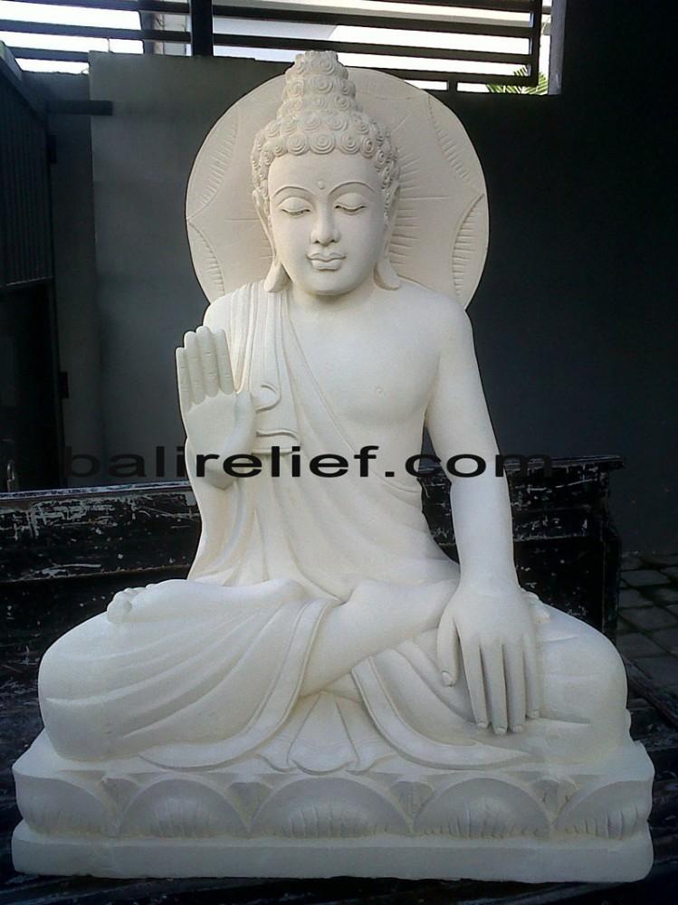 Bali Stone Buddha Statue - Statue REL-019