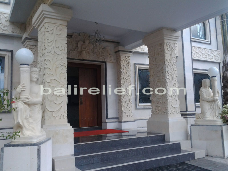 Balinese Gates for Sale - Statue GTE-015