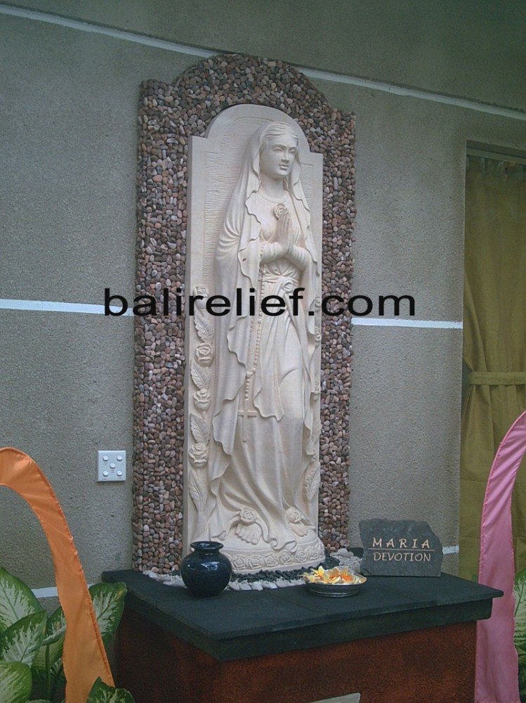 Balinese Stone Sculpture - Statue REL-005